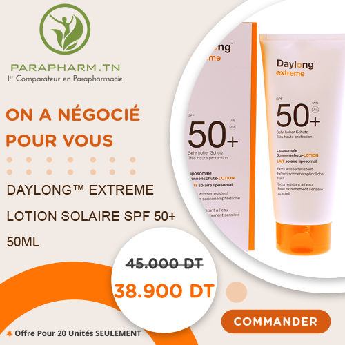 DAYLONG EXTREME LOTION SOLAIRE SPF 50+ - 50ML