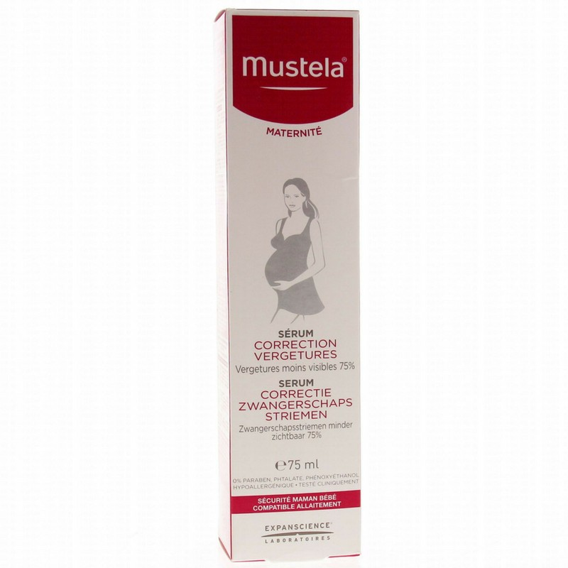 MUSTELA Maternité Sérum Correction Vergetures
