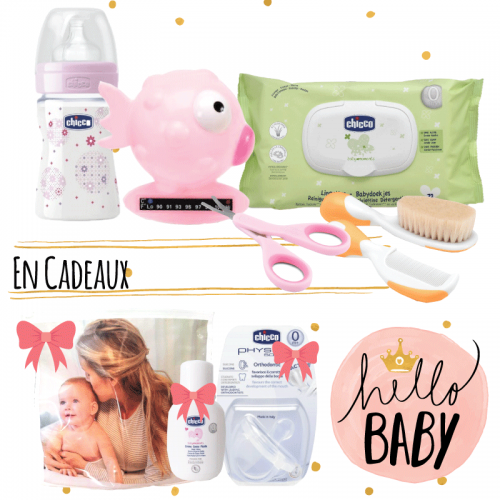 CHICCO - COFFRET NAISSANCE BABY GIRL