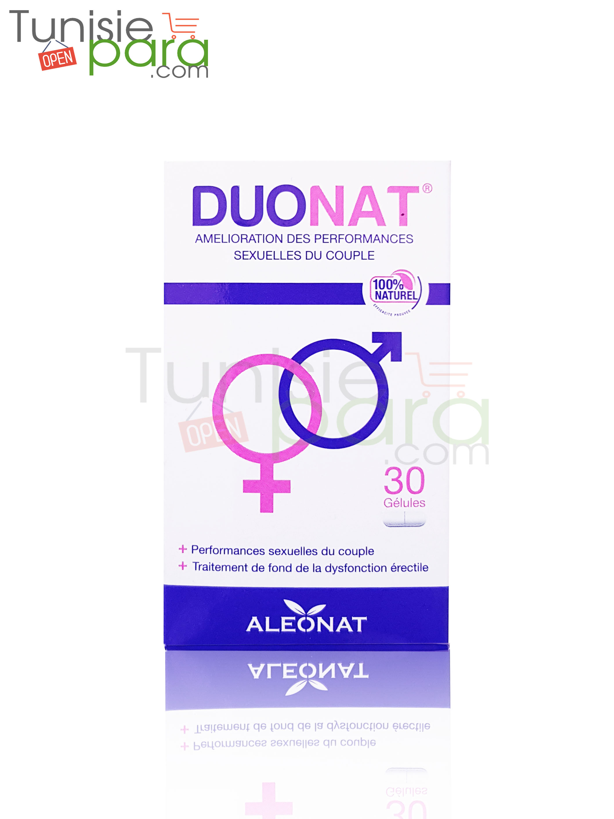 Duonat performance sexuelle du couple 30 gélules