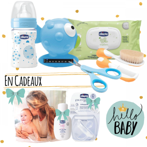 CHICCO - COFFRET NAISSANCE BABY BOY