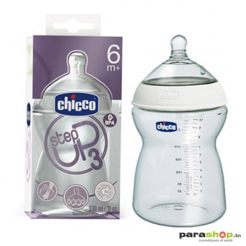 Chicco Biberon STEP UP 330 ml 6m+