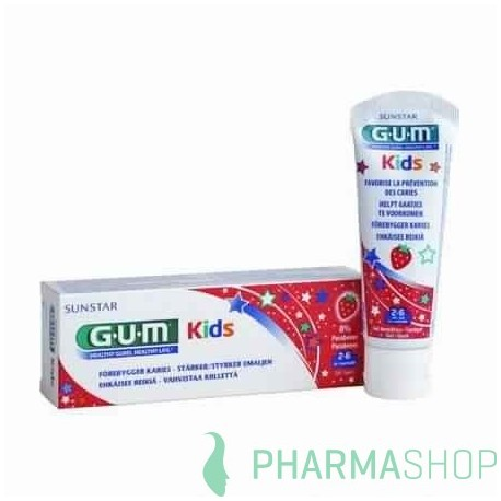 GUM Dentifrice Kids 2/6 ans, 50ml