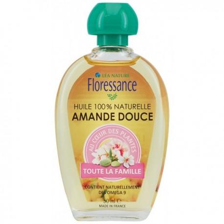42ed21e643 Floressance Huile Végétale - Amande Douce, 50 ml
