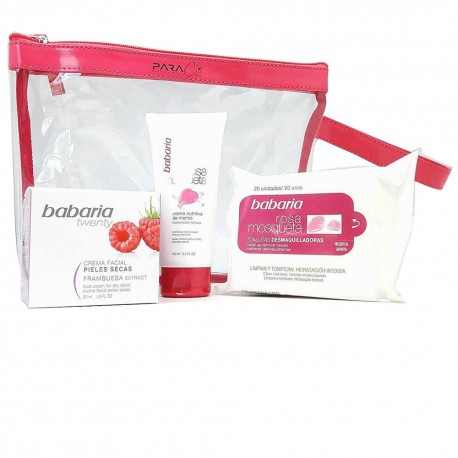 Coffret BABARIA Framboise (peaux sèches)