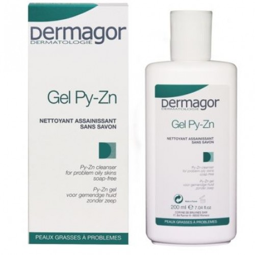 DERMAGOR GEL PY-ZN 200ML..