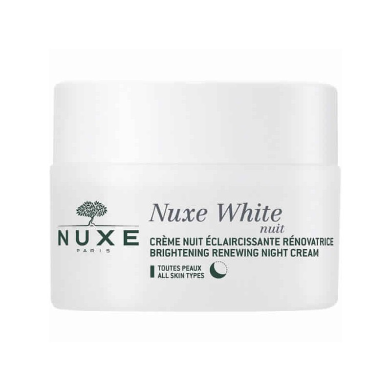 NUXE WHITE CREME NUIT ECLAIRCISSANTE RENOVATRICE 50ML